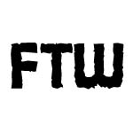 FTW DECAL STICKER