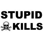 STUPID KILLS DECAL